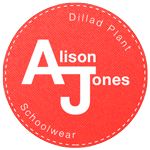 Logo Alison Jones Schoolwear